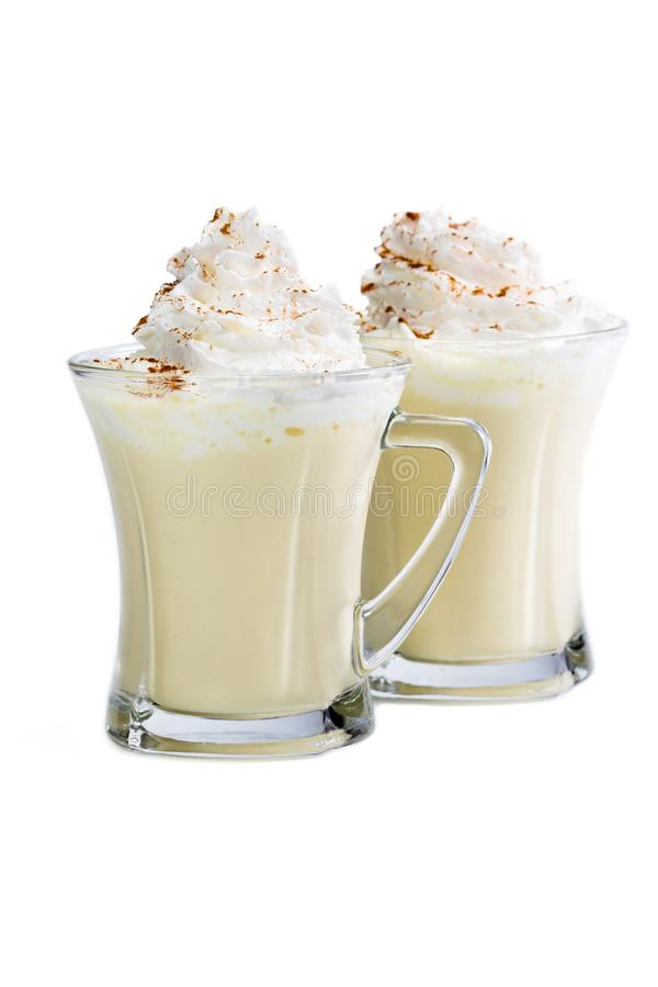 Eggnog a holiday classic royalty free stock photo