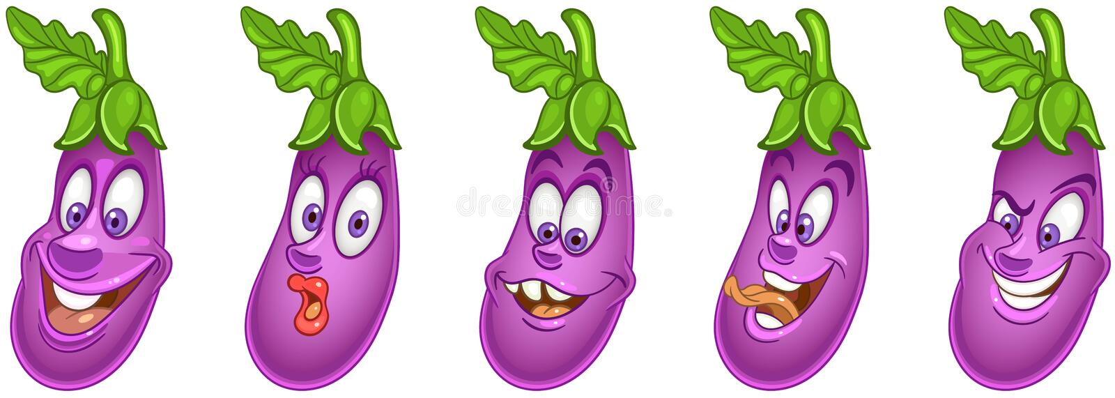 Eggplant. Vegetable Food concept stock photos