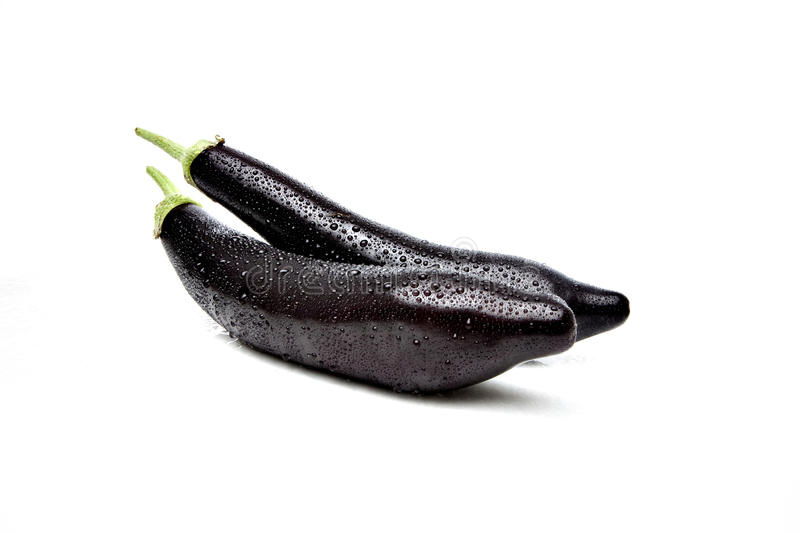 Download Eggplant stock photo. Image of greengrocers, fresh, drops - 34463524