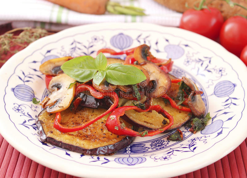 eggplants imagem de stock