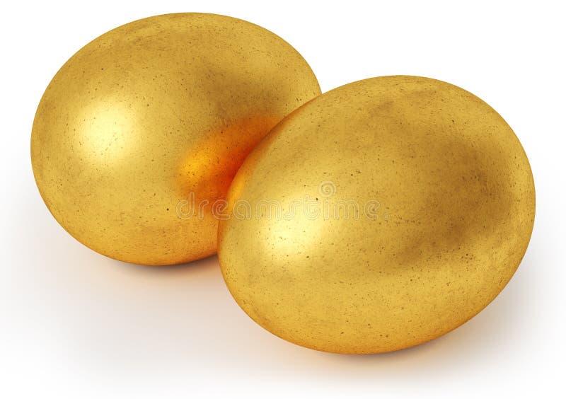eggs золотистое бесплатная иллюстрация