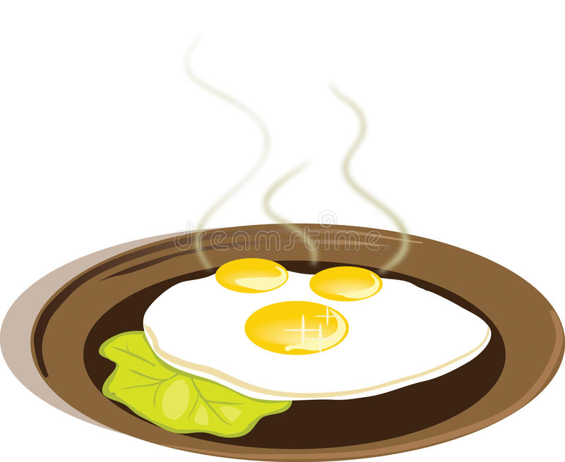 Eggs royalty free illustration