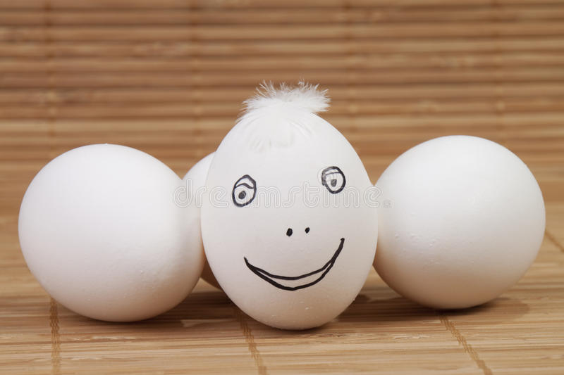 Download Eggs stock photo. Image of ingredients, feather, mouth - 16789914