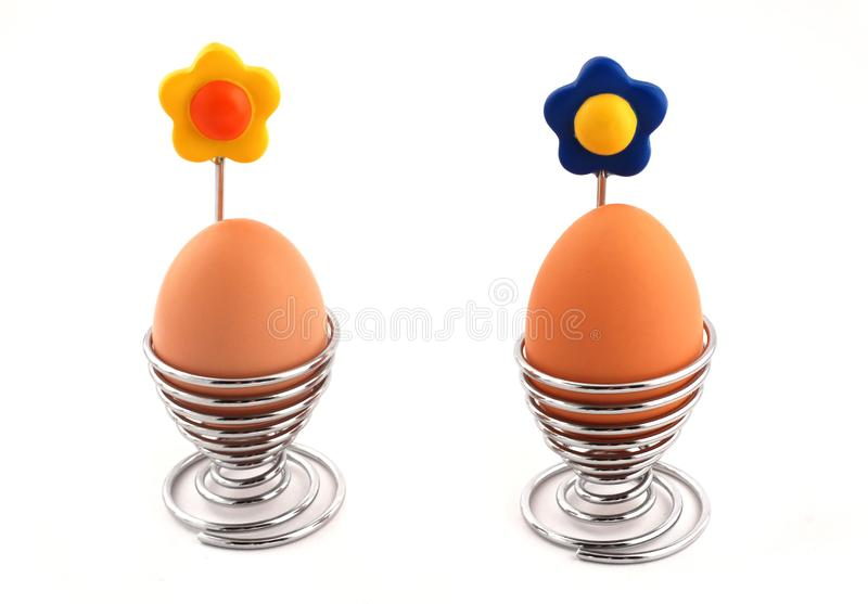 Download Eggs stock photo. Image of decoration, metal, blue, white - 1998974