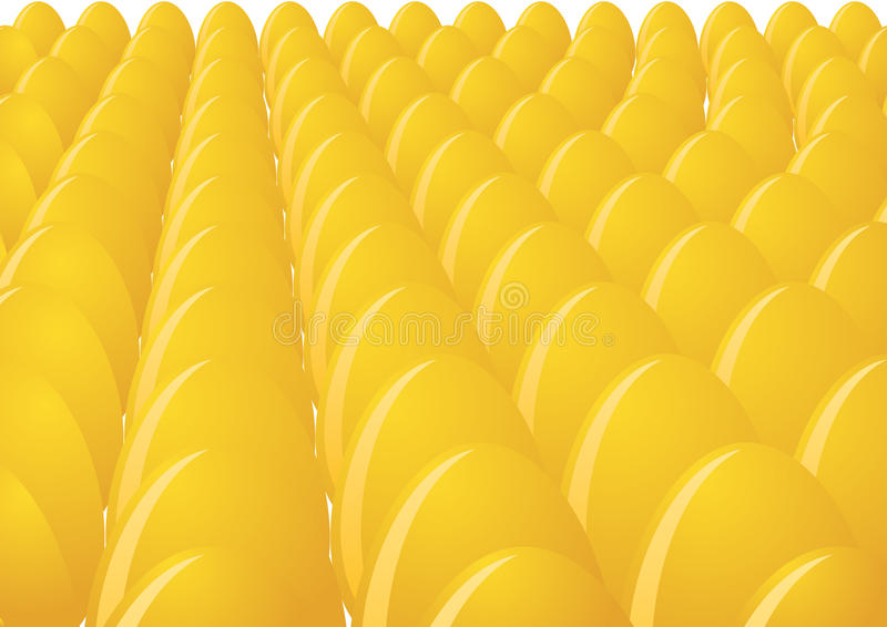 Download Eggs stock vector. Illustration of many, yellow, shell - 20785353