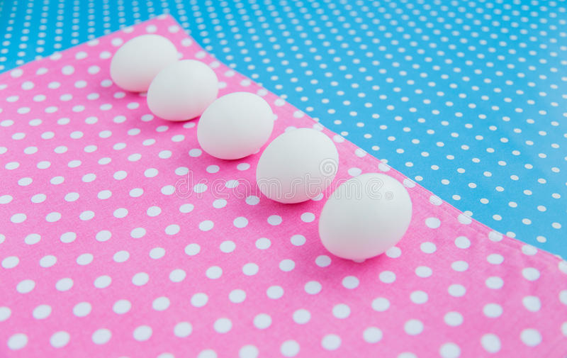 Download Eggs stock image. Image of dotted, symbol, napkin, life - 38051677