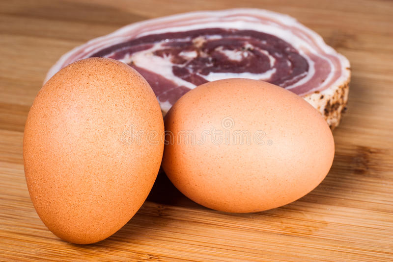 Download Eggs And Bacon Slice Stock Photo - Image: 42934801