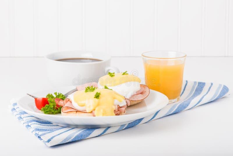 Eggs Benedict Breakfast stock photo