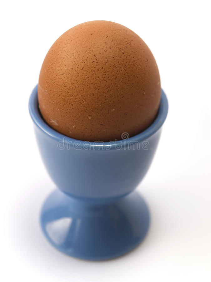 Download Eggs in the blue cup stock image. Image of culinary, life - 23970067