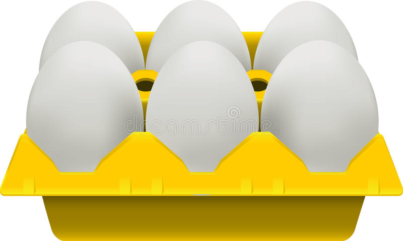 Download Eggs carton stock vector. Image of illustration, eggs - 27932791