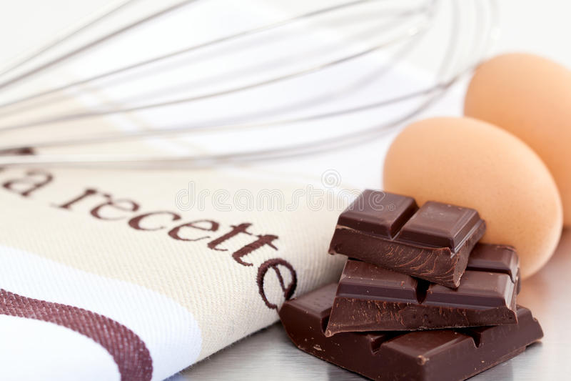 Download Eggs And Chocolate For Baking Stock Photo - Image: 20404524