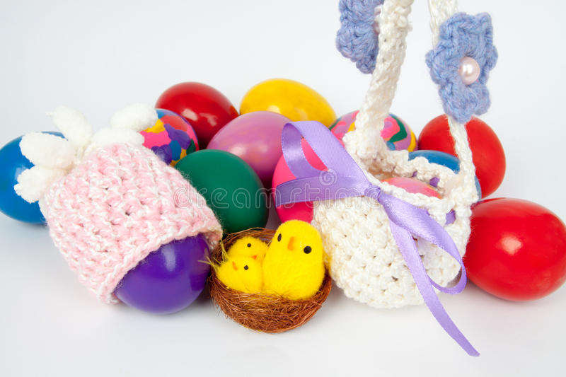 Eggs for Easter stock photography