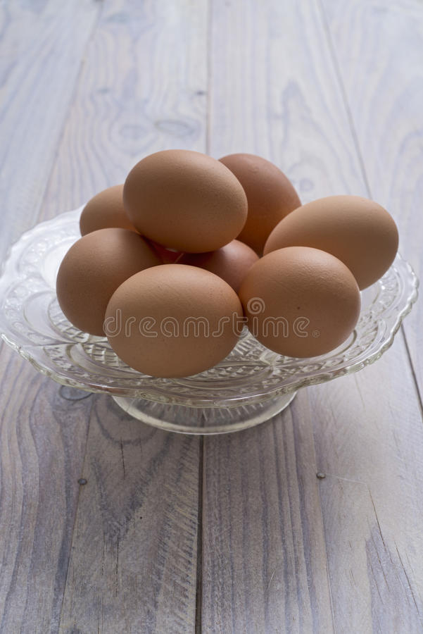 Download Eggs stock photo. Image of glass, organic, tray, product - 37221576