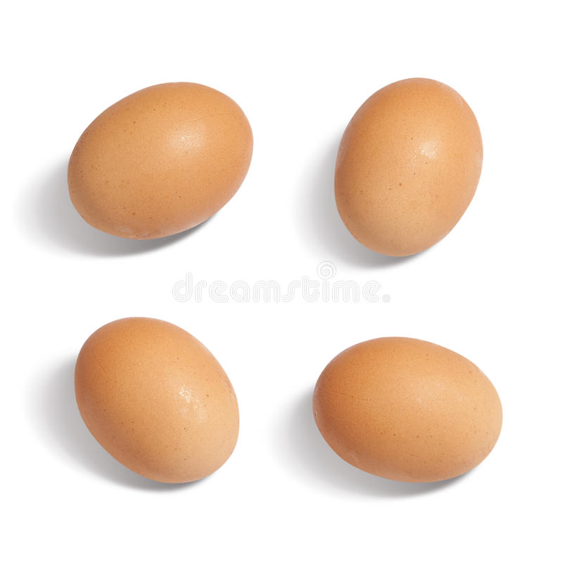 Download Eggs Isolated On White Background Royalty Free Stock Photos - Image: 38495398