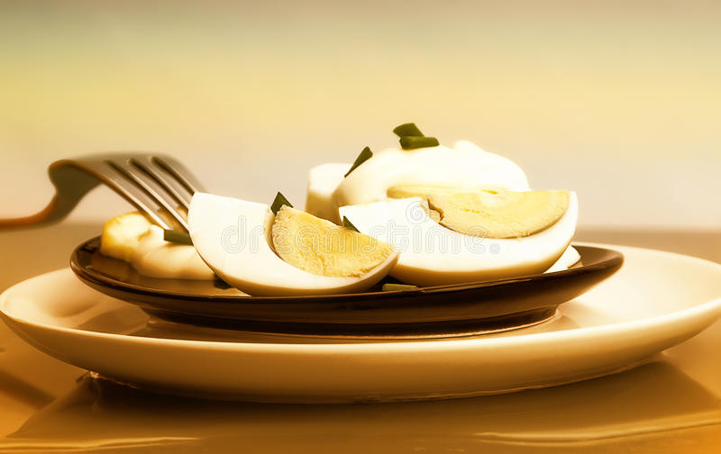 Download Eggs With Mayonnaise Royalty Free Stock Photos - Image: 18894068