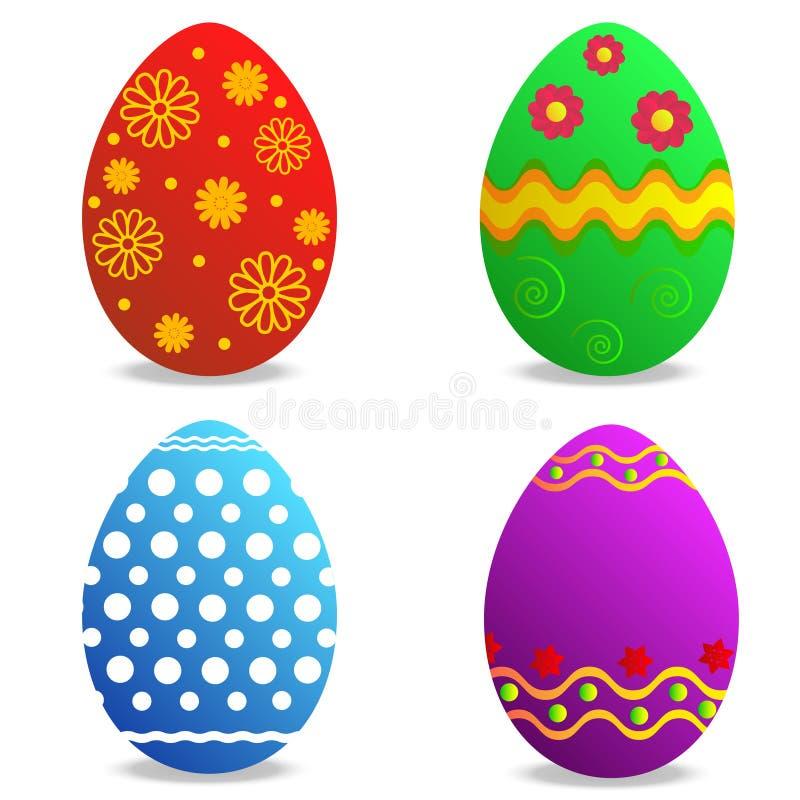 Eggs o feriado de easter imagens de stock