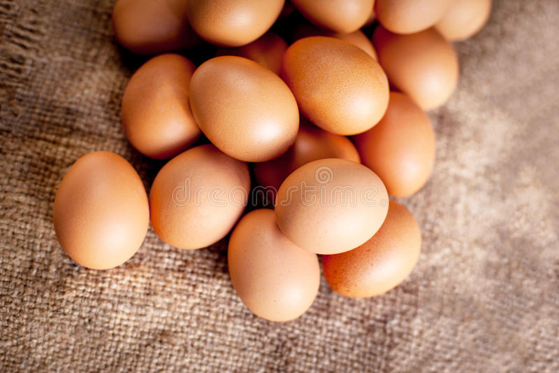 Eggs on wooden background close up macro.. Eggs on wooden background close up macro royalty free stock photos