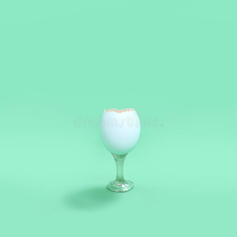 Eggshell как стекло стоковая фотография rf