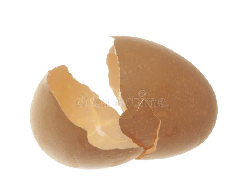 Download Eggshell Broken In Half, Isolated Stock Photo - Image: 15618092