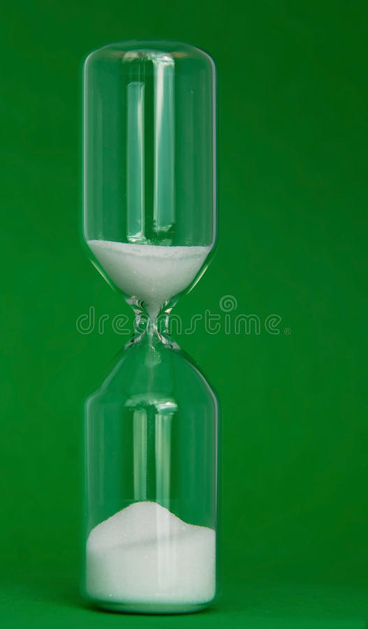 Download Eggtimer on green stock photo. Image of business, time - 16849738