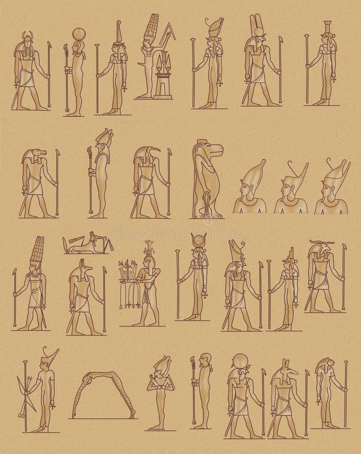 egipcjanie ilustracji