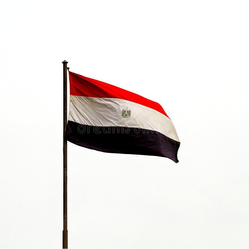 egipcjanin flaga zdjęcie royalty free