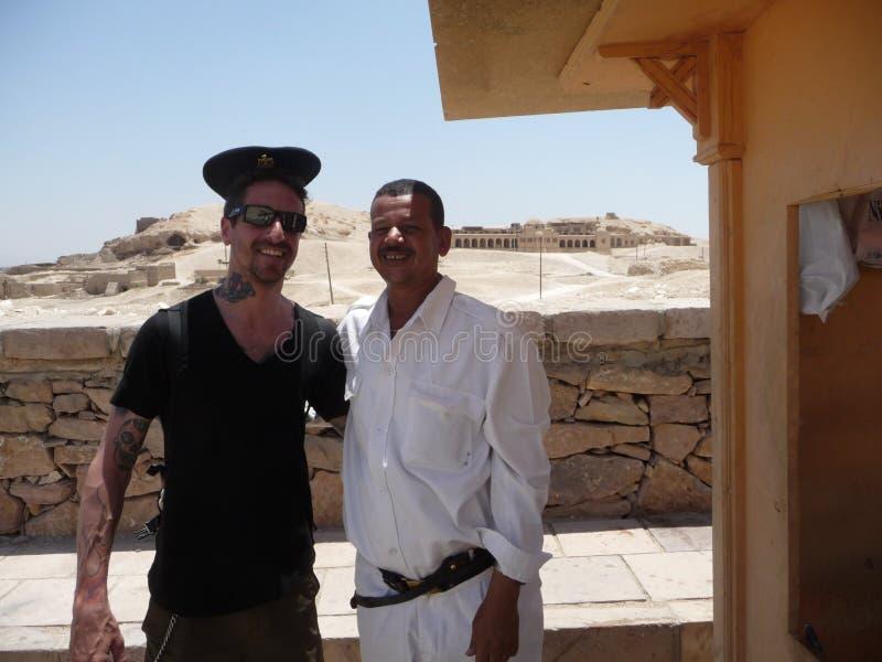 Egipcjanin policja. zdjęcie stock