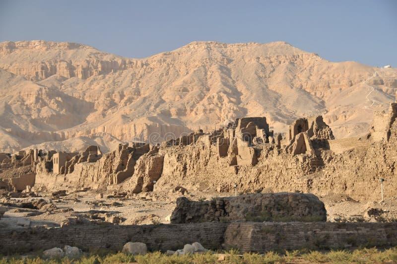 egipska świątynia zdjęcia stock