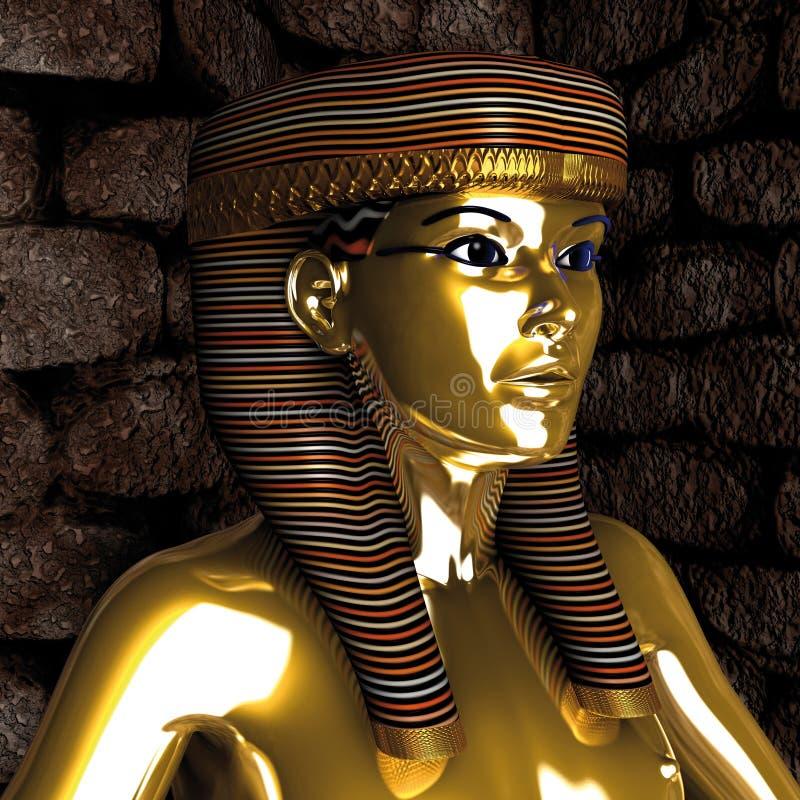 egipska kobieta ilustracja wektor