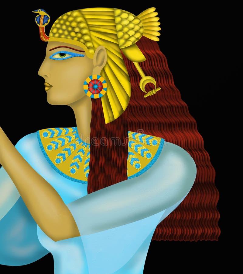 Egipska królowa ilustracji