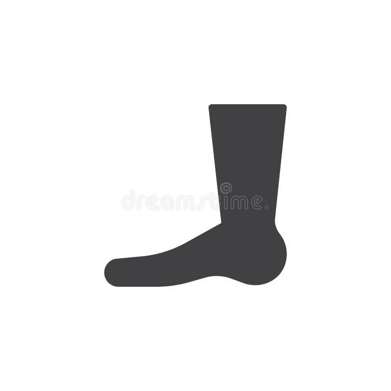 Egipska noga wektoru ikona ilustracja wektor