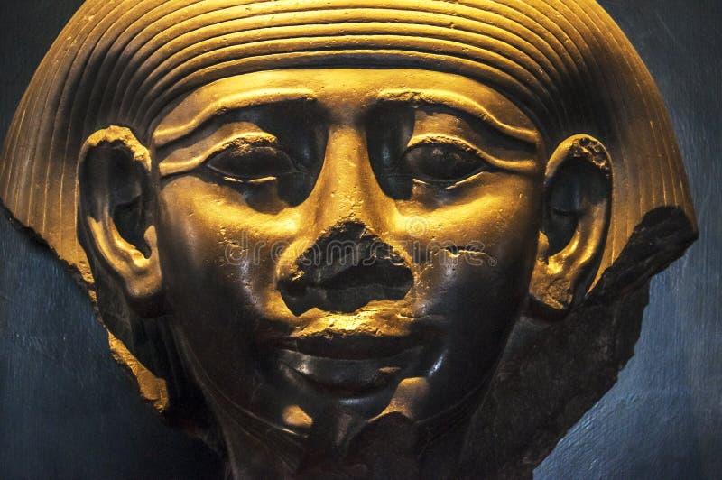 egipska rzeźba obraz stock