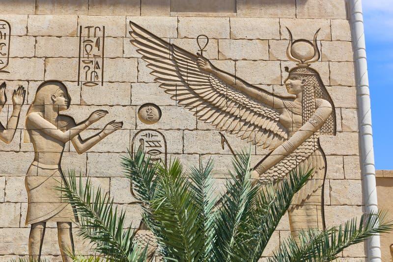 egipska rzeźba obraz royalty free
