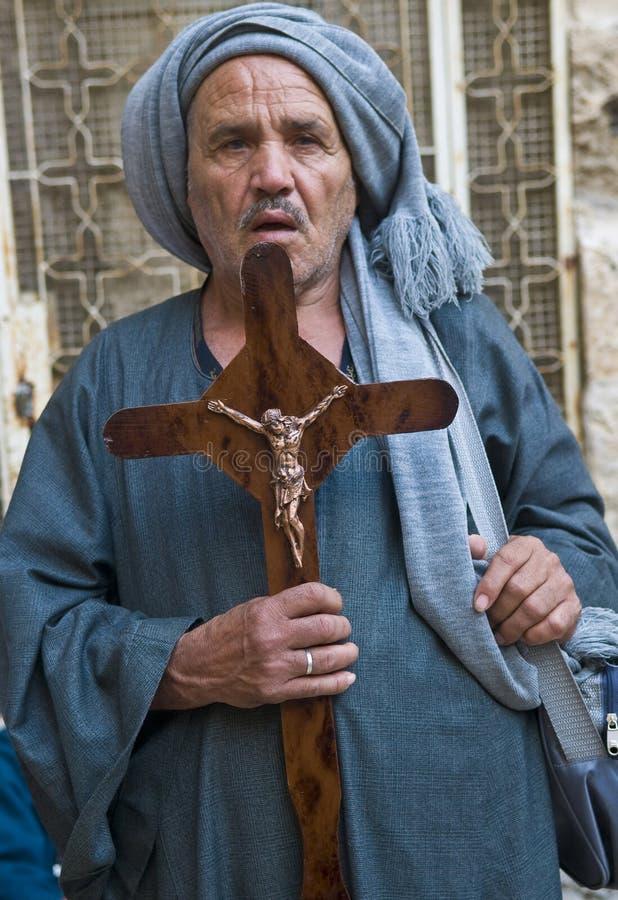 Egipski Copt obrazy royalty free