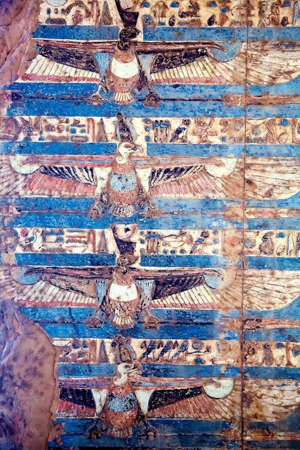 egipski fresk obrazy royalty free