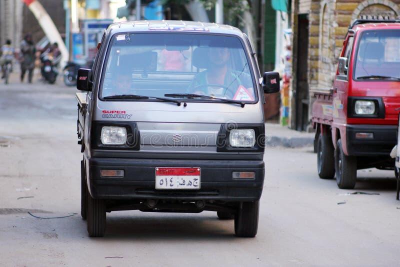 Egipski kierowca zdjęcie stock