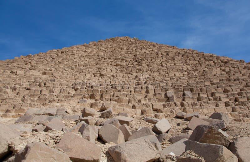 Egipski meczet i ruiny zdjęcia royalty free