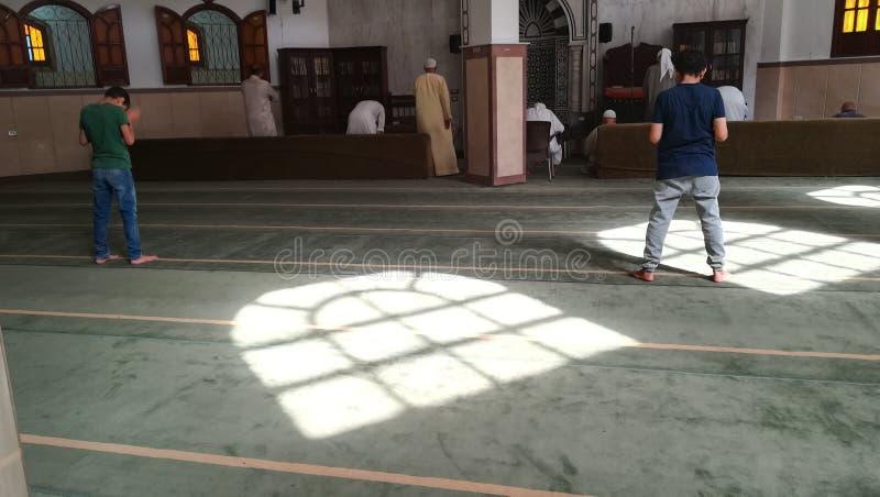 egipski meczetu zdjęcia royalty free