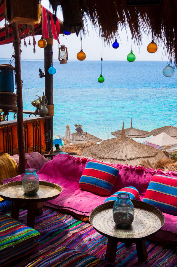 Egipski raj zdjęcie stock