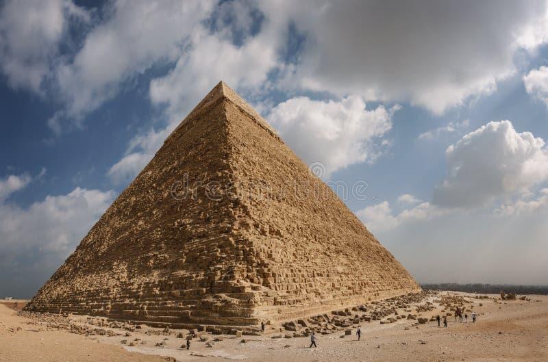 Egipt wielki Ostrosłup obrazy stock