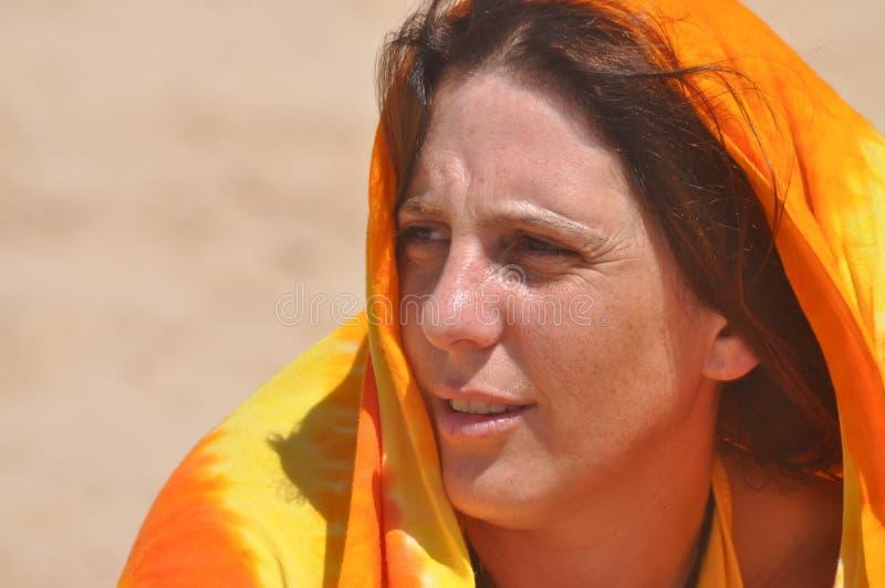 egiptian flicka royaltyfri fotografi