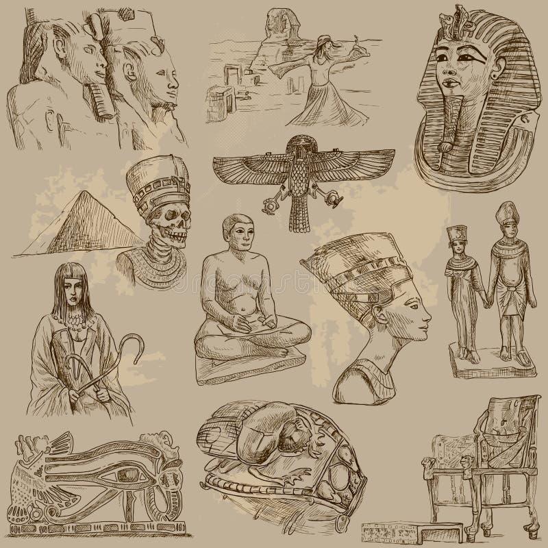 Egipto stock de ilustración