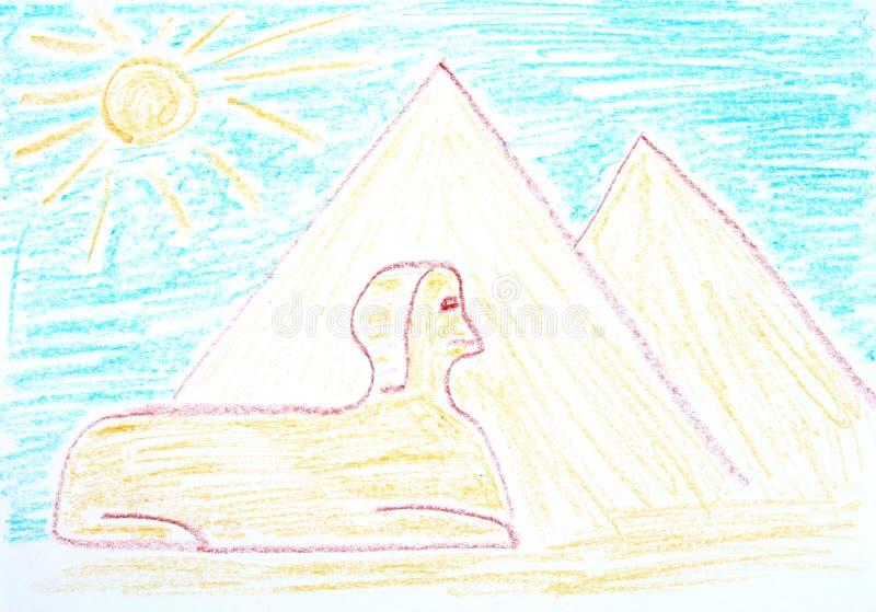 Egipto ilustración del vector