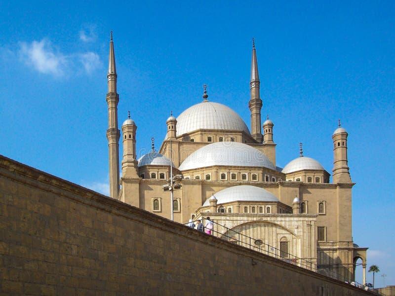 Egipto, El Cairo, mezquita de la ciudadela, Mohammed Ali, siglo XIX imagen de archivo