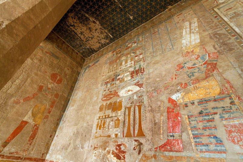 Egipto, Thebes ocidental, imagem de stock