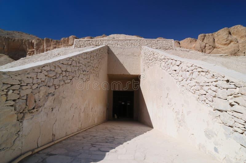 Egipto - vale dos reis foto de stock