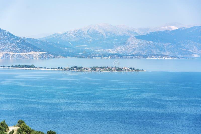 Egirdir lake scenery.Isparta/Turkey stock image