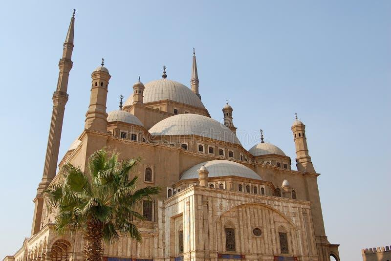 Egito, o Cairo, mesquita de Mohamed Ali fotografia de stock royalty free