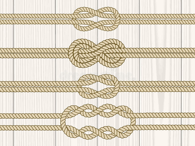 Żeglarz kępki dividers ustawiający royalty ilustracja