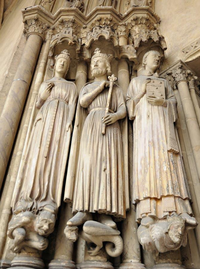 Eglise圣日耳曼l'Auxerrois在巴黎 免版税图库摄影